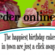 Order cakes in your pajamas!